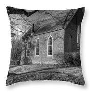 Cove Presbyterian Church Throw Pillow