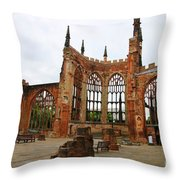 Coventry Cathedral 6003 Throw Pillow