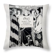 Cover For Art At The Paris Salons Throw Pillow