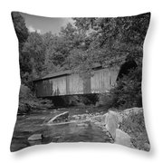 Covered Beauty Throw Pillow
