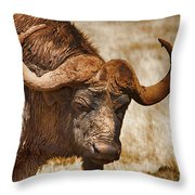 Covered In Mud V3 Throw Pillow
