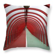 Covered Walkway 01 Throw Pillow