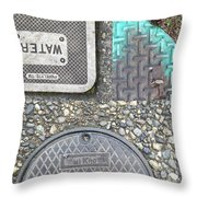 Covers 2 Throw Pillow