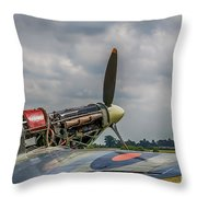 Covers Off Hawker Hurricane Throw Pillow
