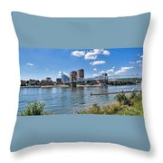 Covington Kentucky Throw Pillow