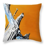 Cow Boy Inverted Throw Pillow