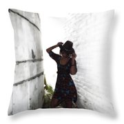 Cow Girl Take Me Away Throw Pillow