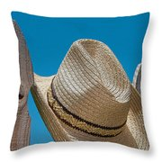 Cowboy Days Throw Pillow