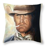 Cowboy Throw Pillow