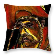 Cowboy With Rope Jgibney The Museum Zazzle Gifts Throw Pillow