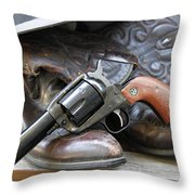 Cowboys Gear Throw Pillow