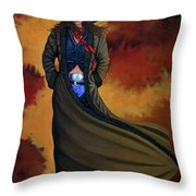 Cowgirl Dust Throw Pillow