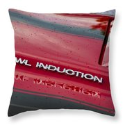 Cowl Induction Throw Pillow