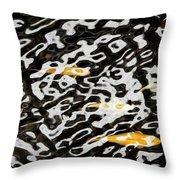 Coy Fish Throw Pillow
