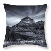 Coyote Buttes Cloud Explosion Throw Pillow