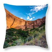 Coyote Gulch Sunset - Utah Throw Pillow
