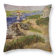 Cozy Home Throw Pillow