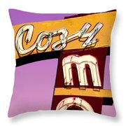 Cozy Mo - Lavender Throw Pillow
