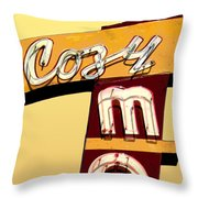 Cozy Mo- Yellow Throw Pillow