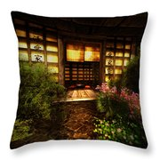 Cozy Tea Throw Pillow
