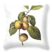 Crab Apple Throw Pillow