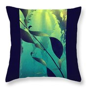 Crab Cathedral Throw Pillow