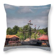Crab Claw Discovery Throw Pillow