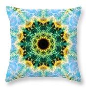 Crab Nebula I Throw Pillow