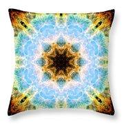 Crab Nebula II Throw Pillow