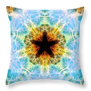 Crab Nebula Iv Throw Pillow