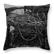 Crab Pot Throw Pillow