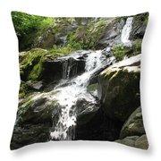 Crabtree Waterfall  Throw Pillow