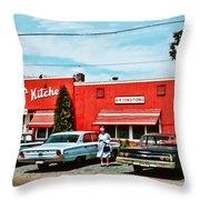 Crabtree's Kitchen Throw Pillow
