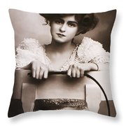 Crack The Wip Throw Pillow by Bill Cannon