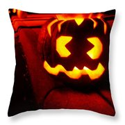 Cracked Jack Throw Pillow