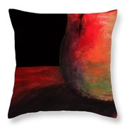 Cracked Not Broken Throw Pillow