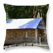Cracker Church Throw Pillow