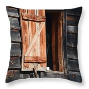 Cracker House Window Throw Pillow
