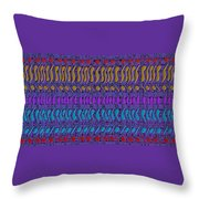 Cracking The Code Throw Pillow