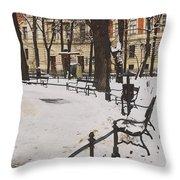 Cracow Park Throw Pillow