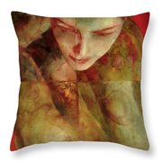 Cradlesong Throw Pillow
