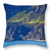 Craggy Coast 7 Throw Pillow