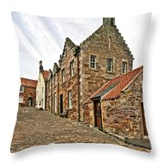 Crail Scotland Throw Pillow