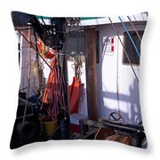 Cramped Quarters Throw Pillow