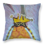 Cranberry Queen Of Portland  Throw Pillow