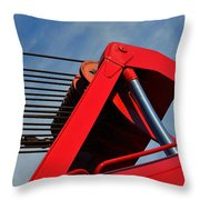 Crane - Photography By William Patrick And Sharon Cummings Throw Pillow