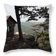 Cranny Crow Overlook At Lost River State Park Throw Pillow