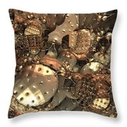 Crash At Roswell Throw Pillow