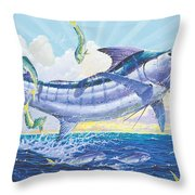 Crasher Off0034 Throw Pillow by Carey Chen
