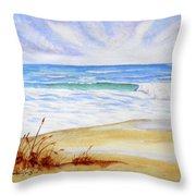 Crashing Wave Throw Pillow